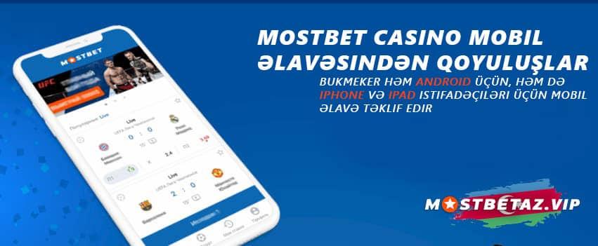 Mostbet casino mobil