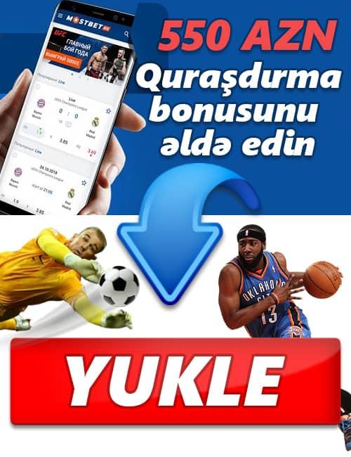 Mostbet yukle bonus